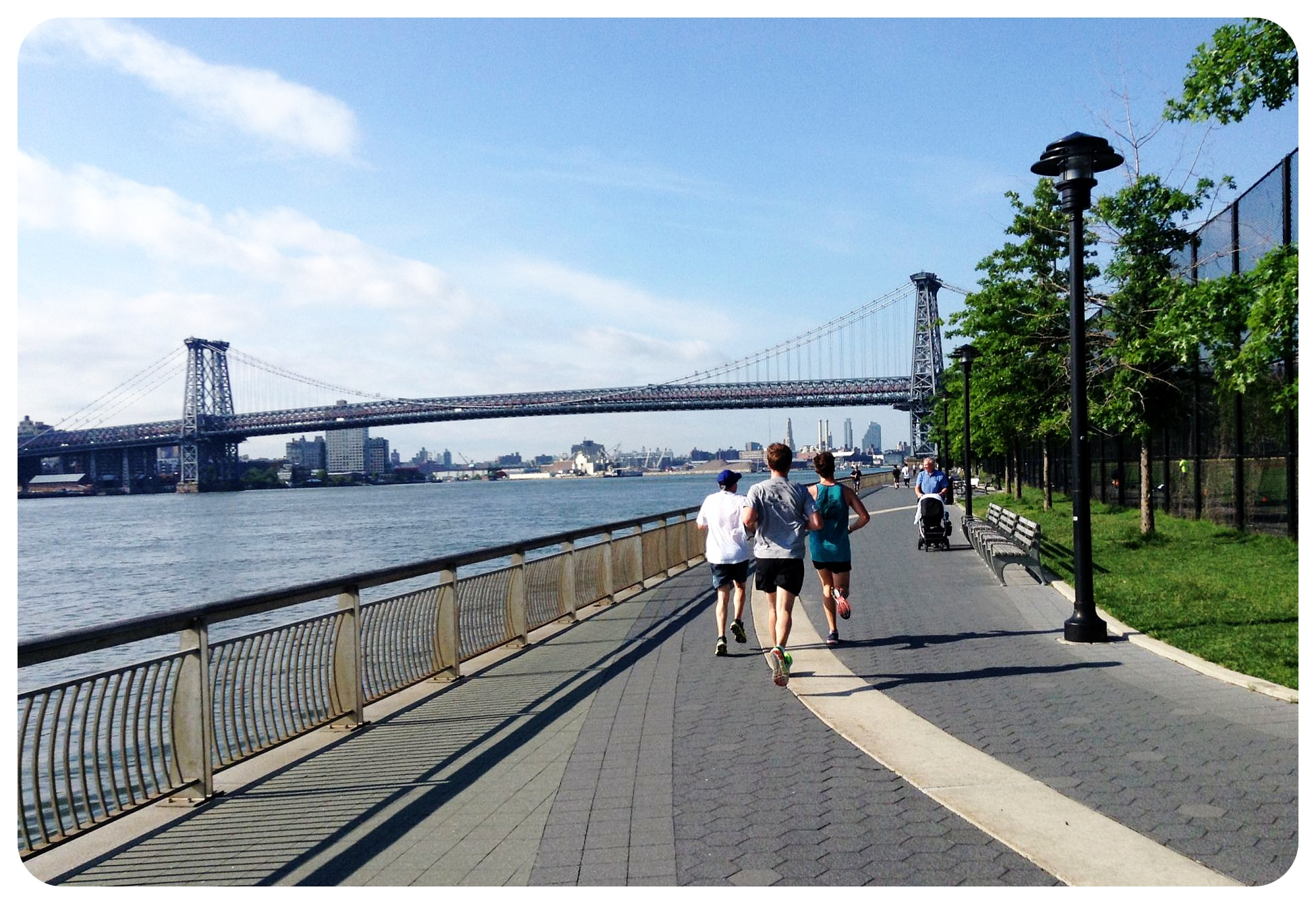 east river running path