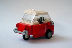 Brick Models - 1959 BMW Isetta 300 rear