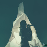Zola Jesus // Webster Hall photographed by Chad Kamenshine