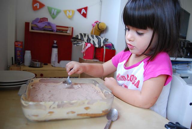 receta tiramisu niños