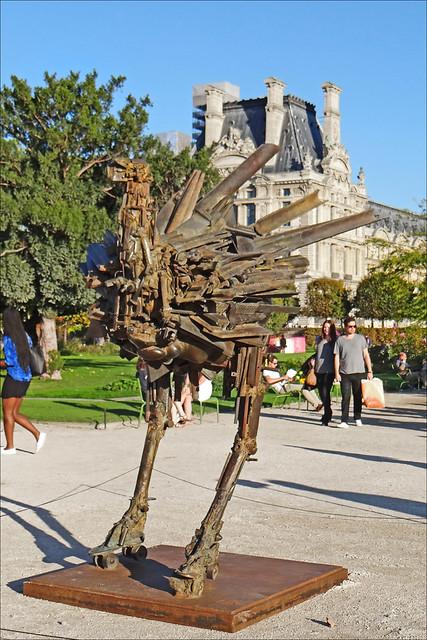 Fiac hors les murs jardin des tuileries flickr photo for Fiac 2015 jardin des tuileries