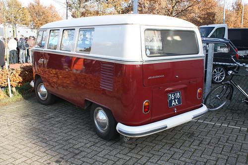 76-18-AX Volkswagen Transporter kombi 1966