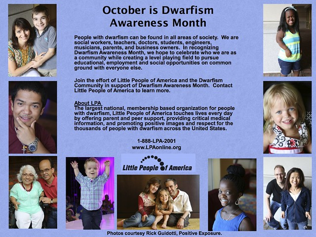 2013 LPA Dwarfism Awareness Flyer (Final)