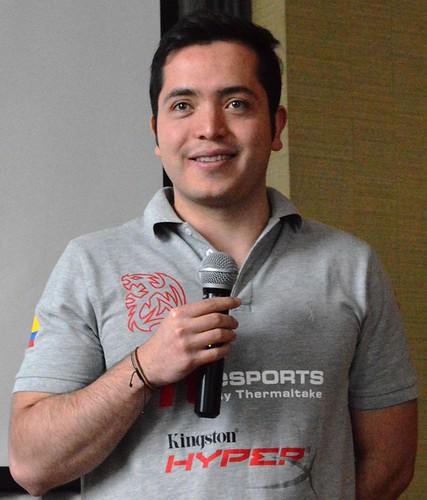 "Sebastián ""ADJ"" Jaimes, experto Gamer colombiano"