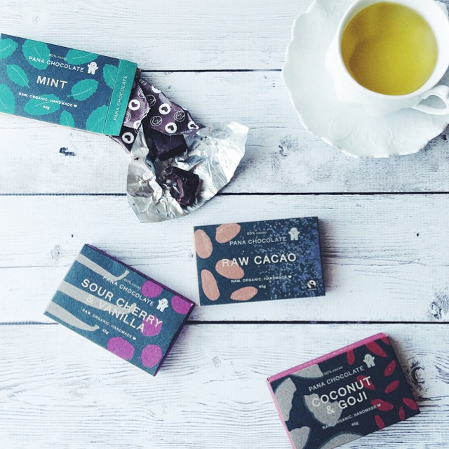 I've always loved @pana_chocolate, now I love their stylish new packaging design! Picked up at @vitalityshow, eaten with a cup of tea #becausechocolate ????   [#eatfoodphotos Oct 23 #sweet /Oct 24 #bitter]