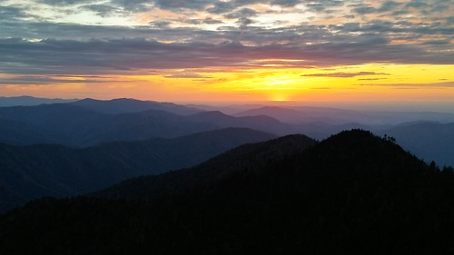 sunset greatsmokymountains mtleconte