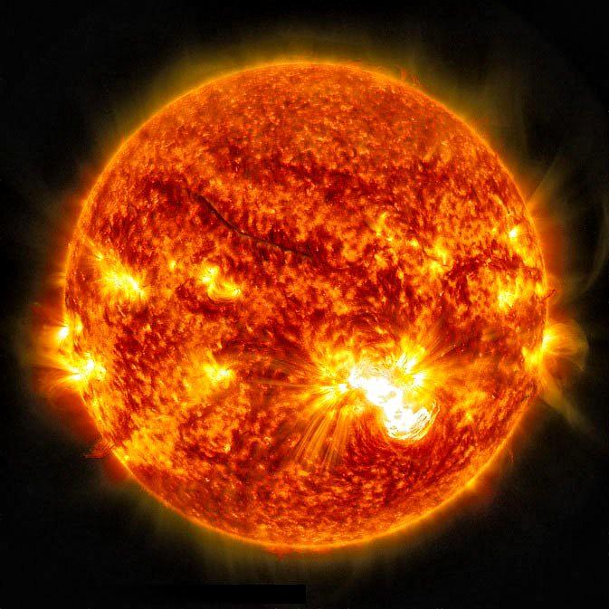 Really Big Solar Flare
