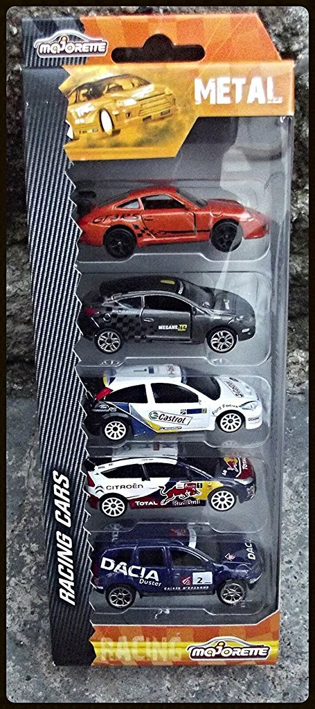Packs 5 voitures Racing Cars. 15438228229_717e107222_b