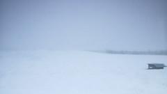 Snowstorm engulfing