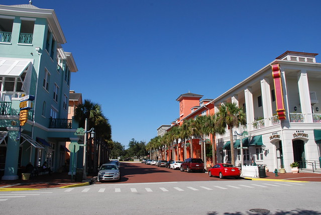 Celebration, the town that Disney built, Florida, USA