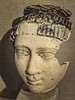 Plaster Mummy Head of Young Romano-Egyptian Woman 2nd-3rd centuries CE