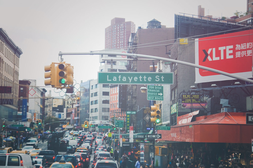Lafayette st, Manhattan