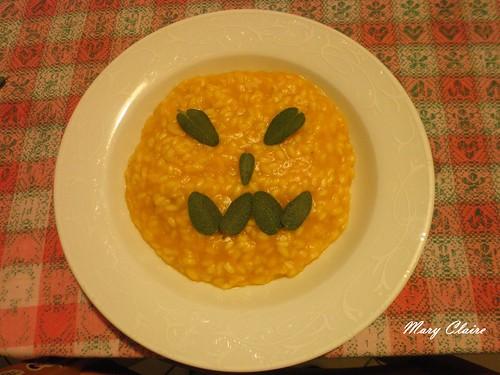 risotto di zucca happy halloween