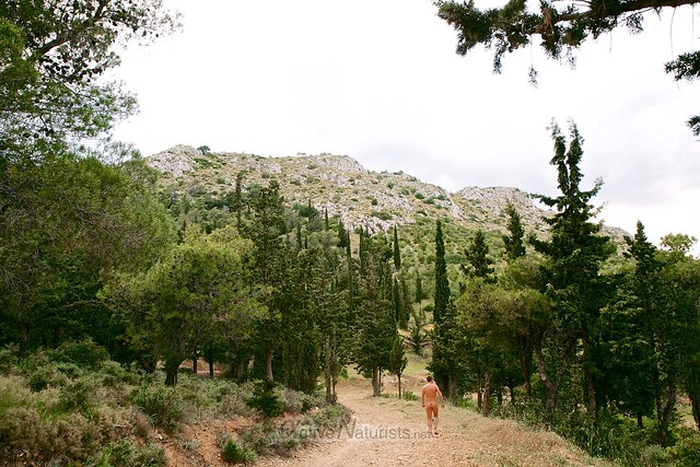 naturist 0002 Oros Egaleo hills, Athens, Greece