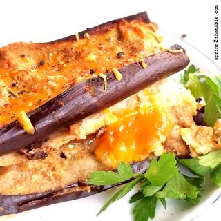 Cauliflower & Eggplant Noodle Pumpkin Lasagna