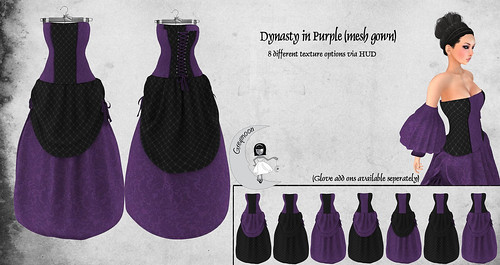 Dynasty_Purple (Mesh Gown) ad
