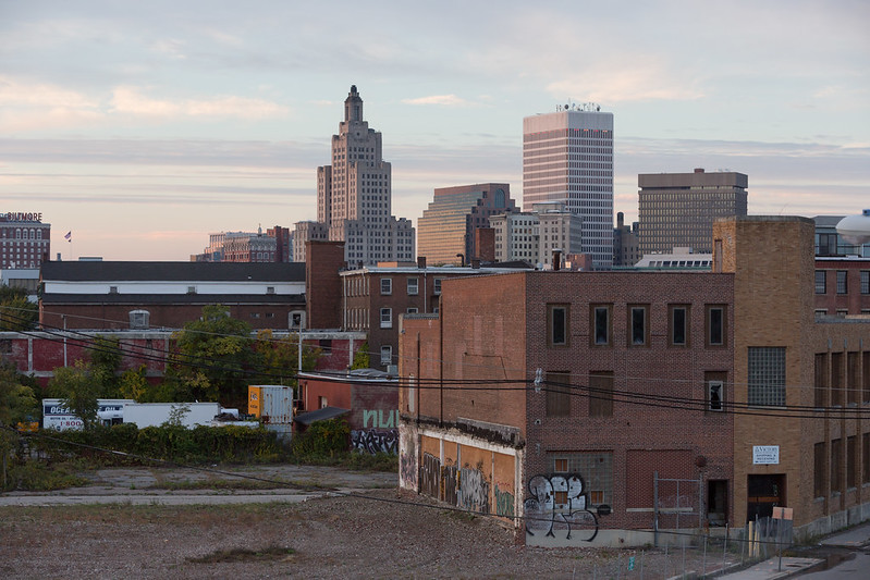 Downtown Providence from the Southeast