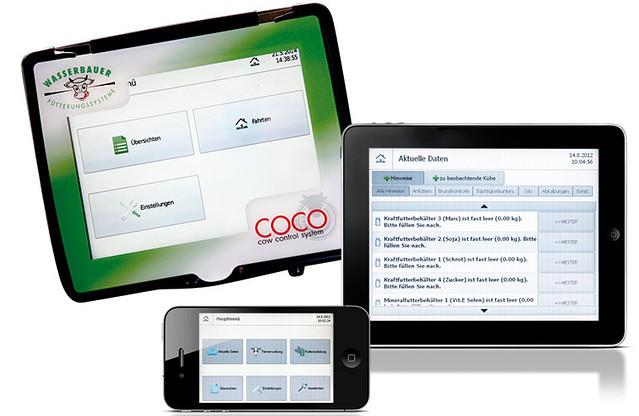 Аналитические отчеты Cow Control System приходят на планшет