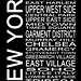 Urban Art District posted a photo:	Subway sign typography listing Manhattan districts in New York City.Website: www.urbanartdistrict.com/subway-new-york-2/Facebook: www.facebook.com/UrbanArtDistrictPinterest: www.pinterest.com/UrbanArtDist/