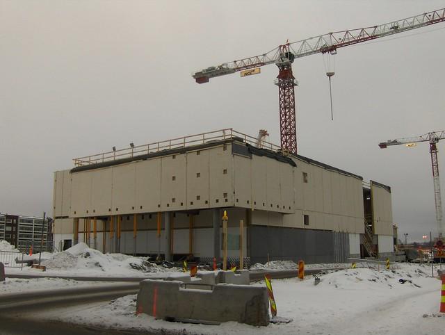 Hämeenlinnan moottoritiekate ja Goodman-kauppakeskus: Työmaatilanne 13.1.2013 - kuva 5