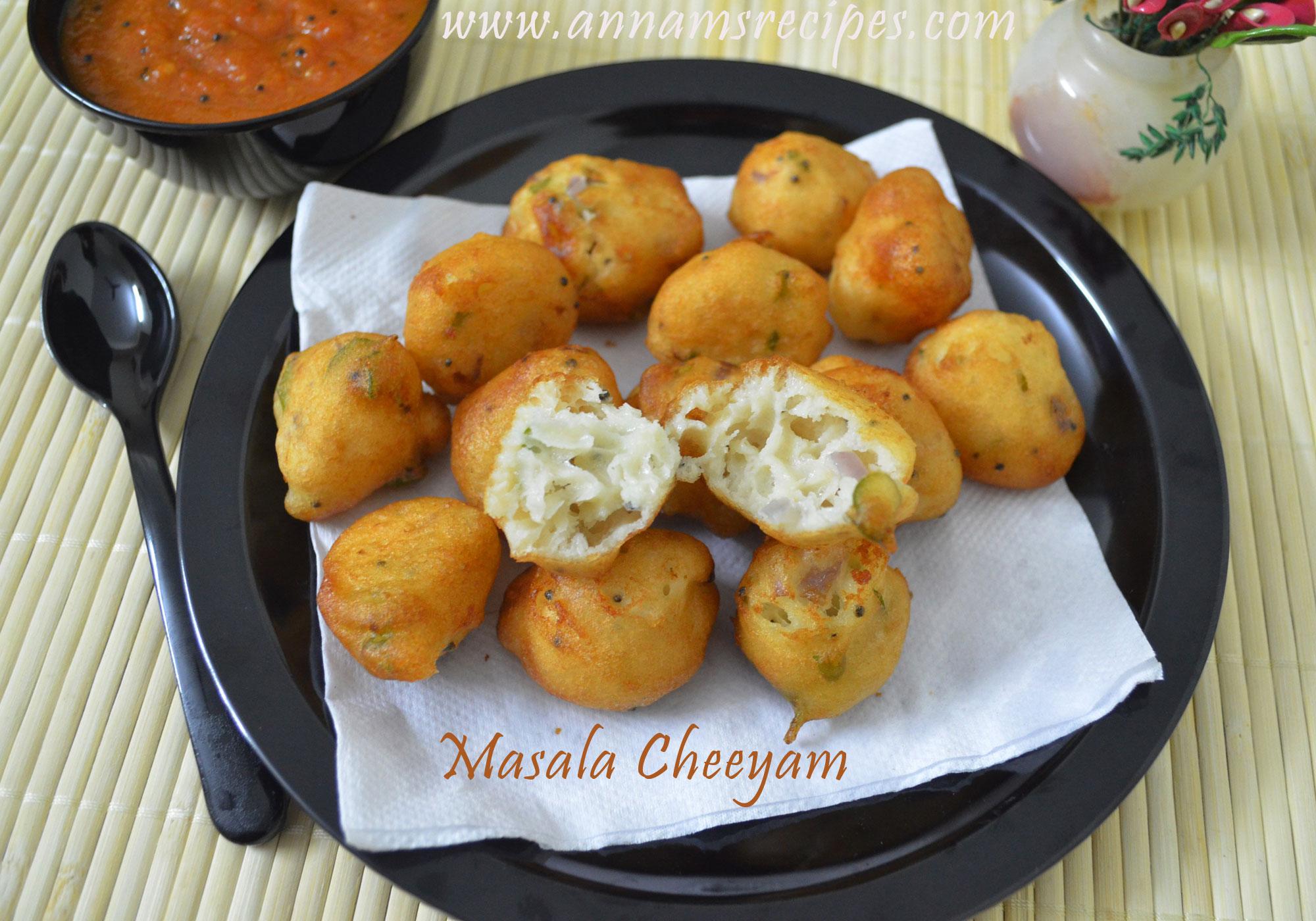 Masala Paniyaram/ Masala Cheeyam Chettinad