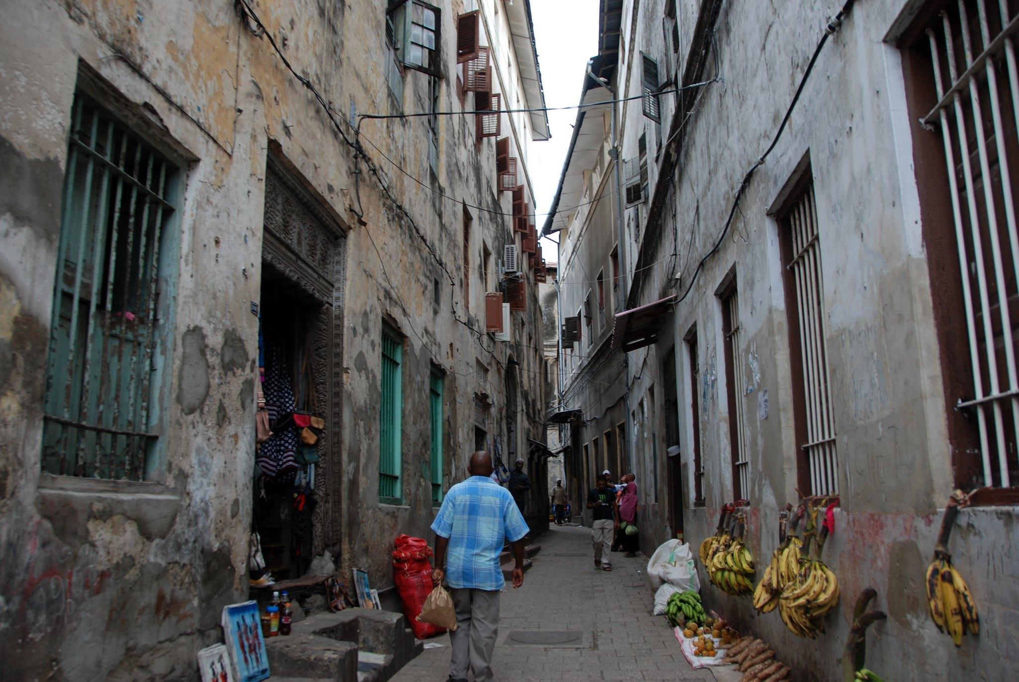 Zanzibar Adası Stone Town