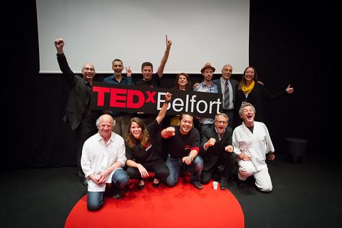 TEDxBelfort 2014 - le Staff