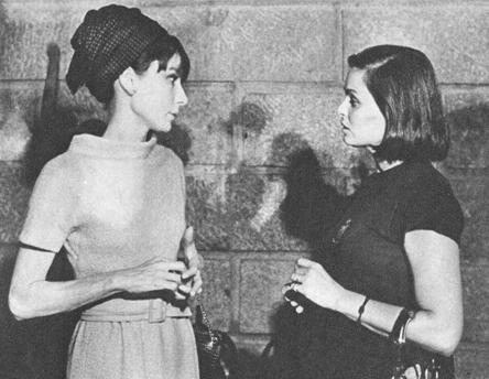 Audrey Hepburn y Lucía Bosé en Toledo en septiembre de 1964