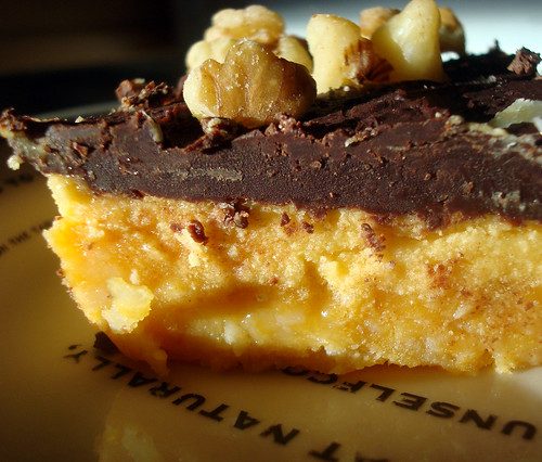 Pumpkin Nanaimo Bars