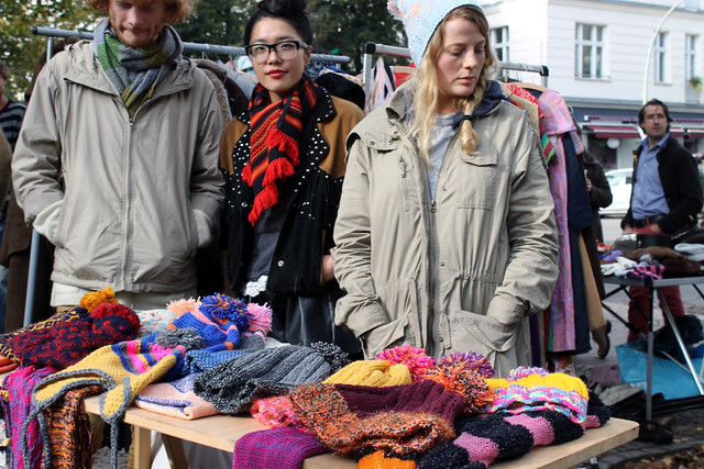 Блошиный рынок Берлин