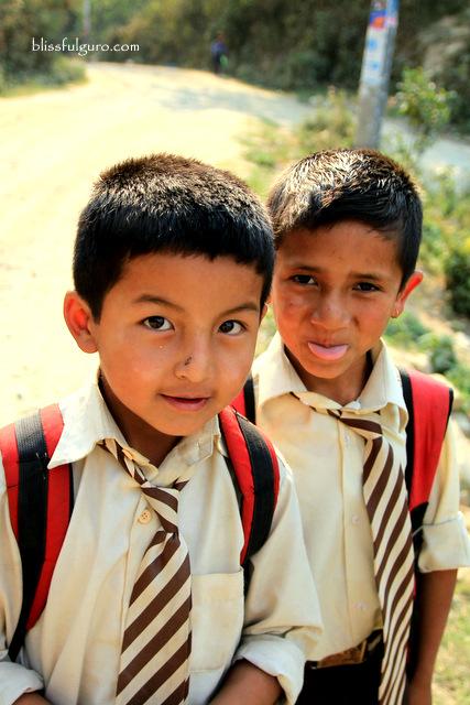 Dhulikhel Nepal Kids