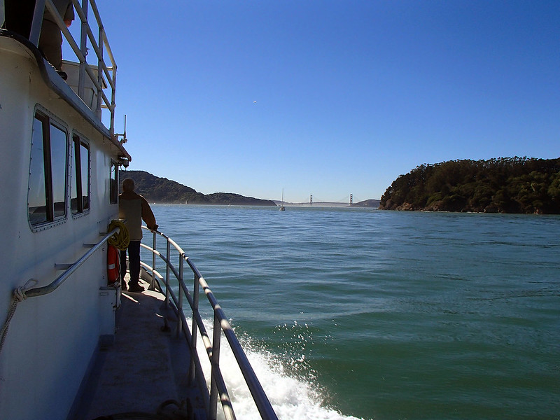 Approaching Raccoon Straits