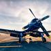 """Vought F4U Corsair by Scott Stringham """"Rustling Leaf Design"""""""