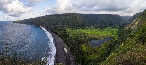 ocean sea beach hawaii valley bigisland waipio