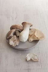 Herby Wild Mushrooms On Toast
