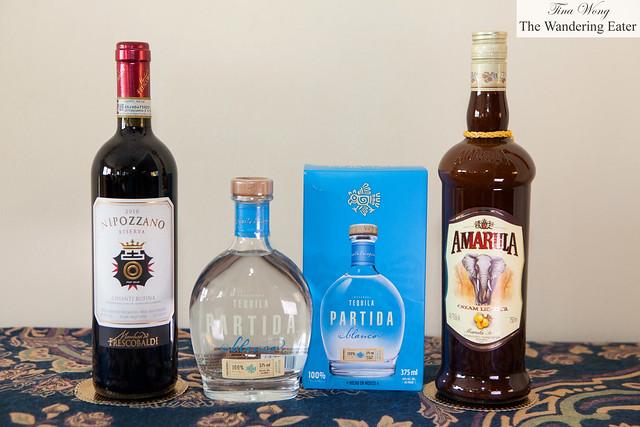 Partida Tequila, 2010 Nipozanno Riserva wine and Amarula liqueur