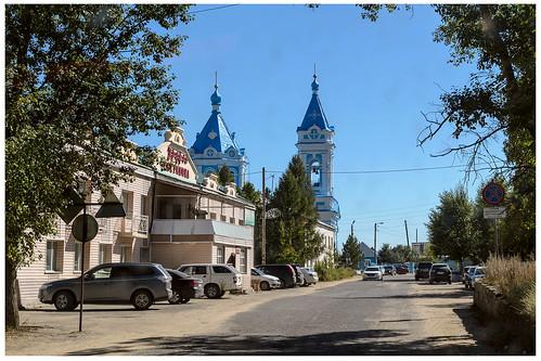 город церковь пейзаж кяхта