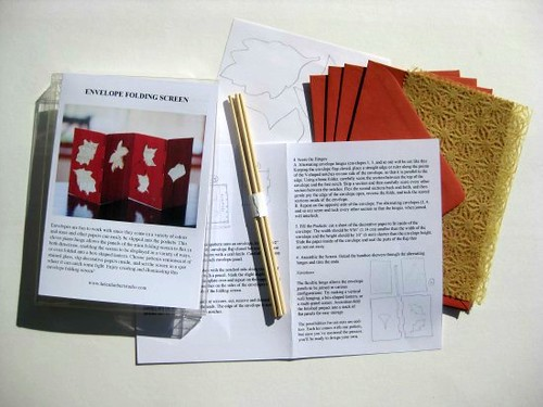 Envelope Folding Screen Kit Supplies