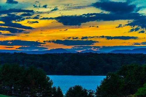 sunset catskills poetswalk