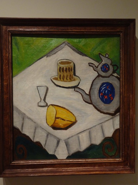 Still life in a minor key, by Mikhail Larionov. (1909).