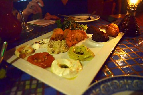 Mixed starter, Habibi, Los Cristianos