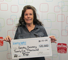 Dorothy Denney - $25,000 Black Out Bingo