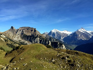 Schynige Platte #swiss #alps #switzerland #swissness #iphone6plus #bestweather #sky #blue