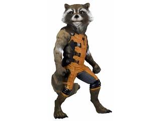NECA 星際異攻隊【火箭浣熊】Rocket Raccoon 1:1 全身比例作品