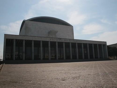 EUR: il palazzo dei congressi