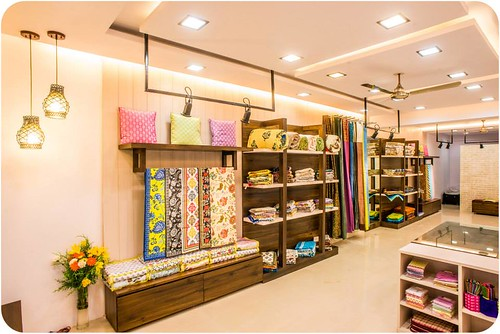 Store tour meghaavi dress your home leading indian interior design blog top home decor and Home furniture showroom in bangalore