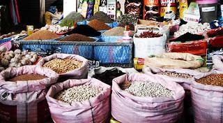 Mercado local.