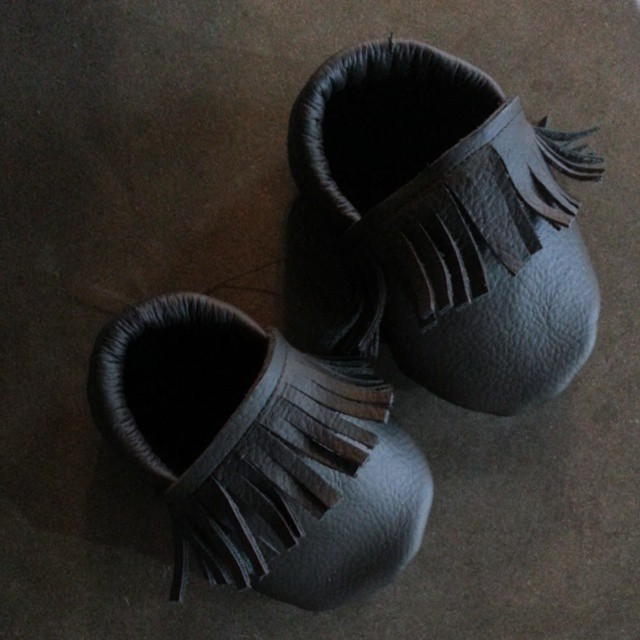For #baby toes. #sewing #leather #thisisfun #39.5wks