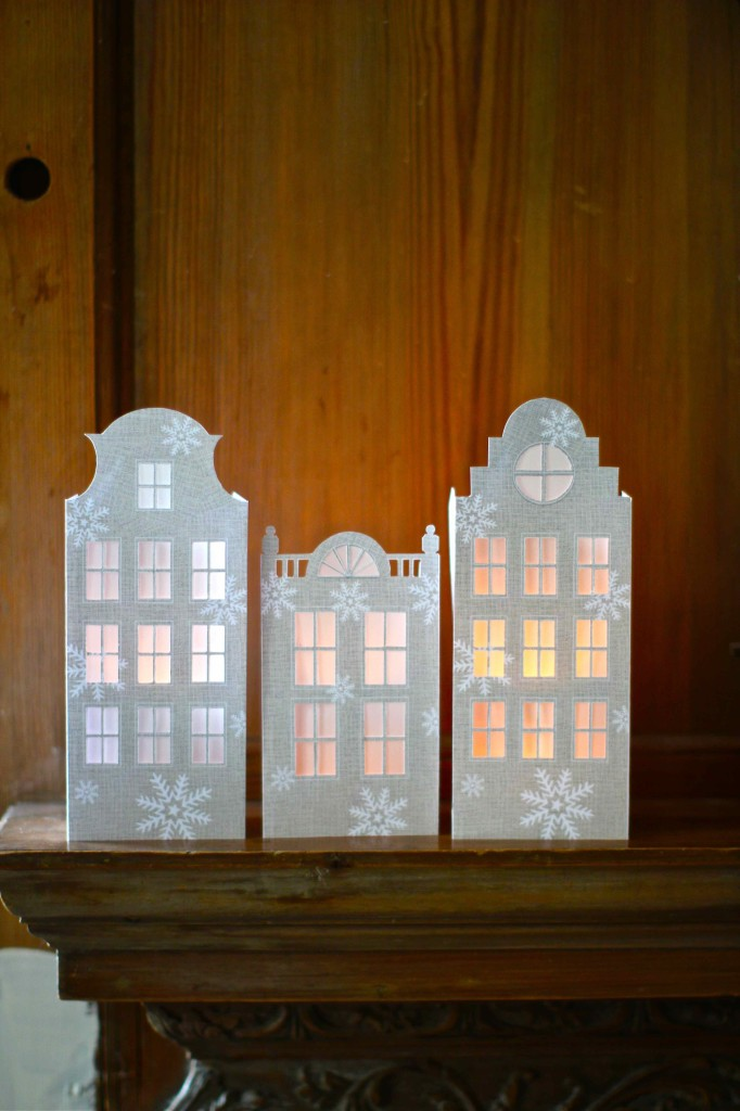Dutch Canal House Luminaries - Kate's Creative Space