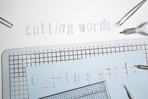 cutting words...